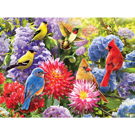 Spring Meetup 300 Large Piece Jigsaw Puzzle