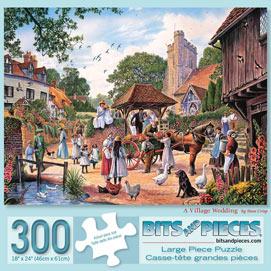 A Village Wedding 300 Large Piece Jigsaw Puzzle