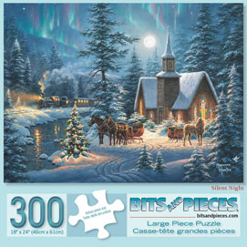 Silent Night 300 Large Piece Jigsaw Puzzle