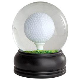Golf Ball Water Globe Brainteaser
