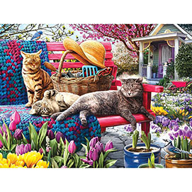 Waiting for Spring 300 Large Piece Jigsaw Puzzle