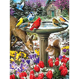 Winter Thaw 300 Large Piece Jigsaw Puzzle