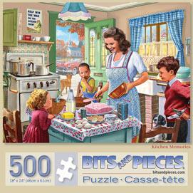 Kitchen Memories 500 Piece Jigsaw Puzzle