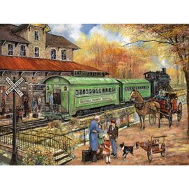 Welcome Home To Lambertville 300 Large Piece Jigsaw Puzzle
