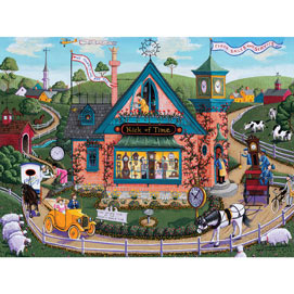 Nick Of Time 300 Large Piece Jigsaw Puzzle