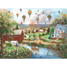The Birds And The Bees 500 Piece Jigsaw Puzzle