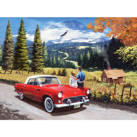 A Stop To Look Back 300 Large Piece Jigsaw Puzzle