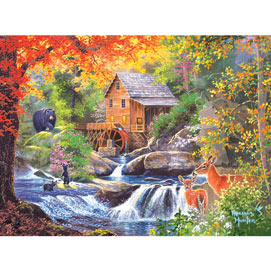 Spring Mill 300 Large Piece Jigsaw Puzzle