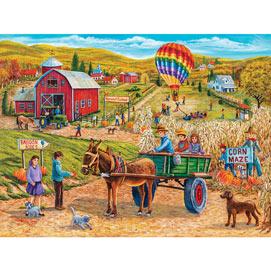 Harvest Festival 500 Piece Jigsaw Puzzle