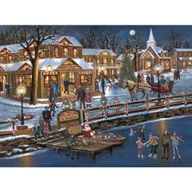 St. Nicholas Village 1000 Piece Jigsaw Puzzle