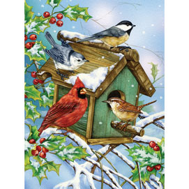 Holly House II 300 Large Piece Jigsaw Puzzle