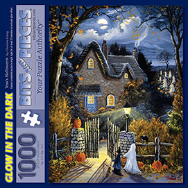 Tess's Halloween 1000 Piece Glow-in-the-Dark Jigsaw Puzzle