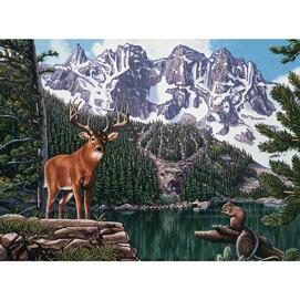 Emerald Lake 1000 Piece Jigsaw Puzzle