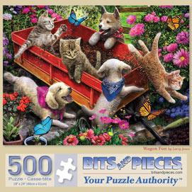 Wagon Fun 500 Piece Jigsaw Puzzle