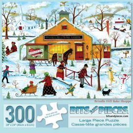 Brindle Hill Bake Shoppe 300 Large Piece Jigsaw Puzzle