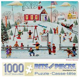 Winter Recess 1000 Piece Jigsaw Puzzle