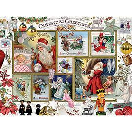 Christmas Greeting 500 Piece Jigsaw Puzzle