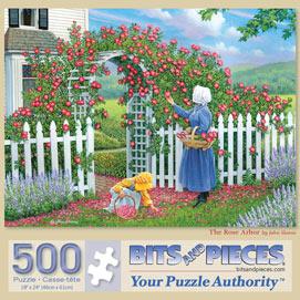 The Rose Arbor 500 Piece Jigsaw Puzzle