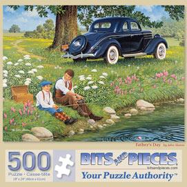 Father's Day 500 Piece Jigsaw Puzzle