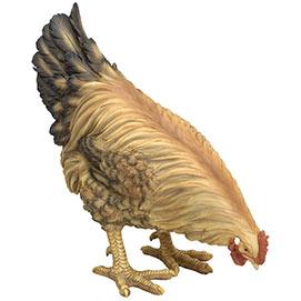 Life Sized Chicken Garden Sculpture