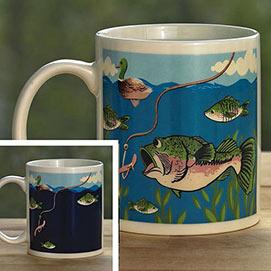 Colour Changing Fish Mug