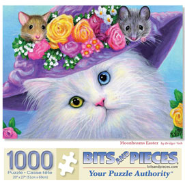 Moonbeams Easter 1000 Piece Jigsaw Puzzle
