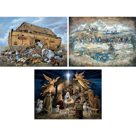 Set of 3: The Power Of Inspiration 1000 Piece Jigsaw Puzzles