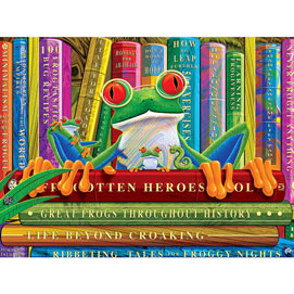 All About Frogs 300 Large Piece Jigsaw Puzzle