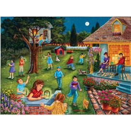 Catching Fireflies 1000 Piece Jigsaw Puzzle
