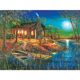 After Dark 300 Large Piece Jigsaw Puzzle