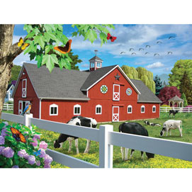 Pleasant Pasture 1000 Piece Jigsaw Puzzle