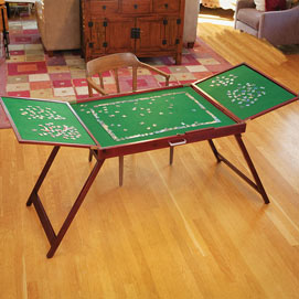 Fold-and-Go Wooden Jigsaw Table®
