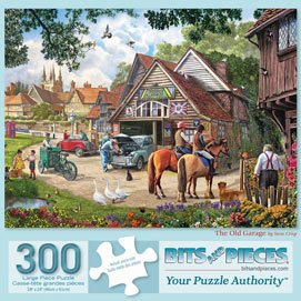 The Old Garage 300 Large Piece Jigsaw Puzzle