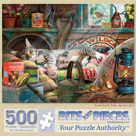 Laid Back Tom 500 Piece Jigsaw Puzzle