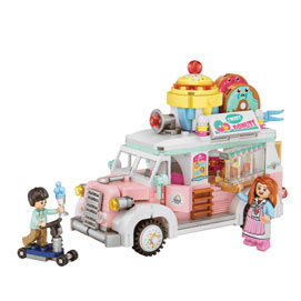 Donut Food Truck 3D Block Puzzzle