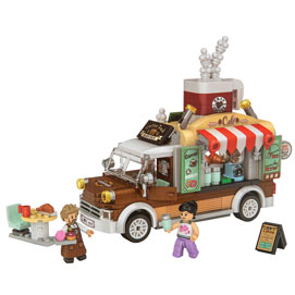 Coffee Food Truck 3D Block Puzzzle