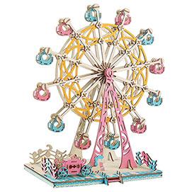 Three Dimensional Ferris Wheel Puzzle