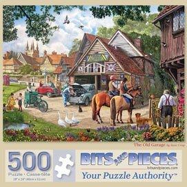 The Old Garage 500 Piece Jigsaw Puzzle