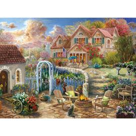 Backyard Retreat 1000 Piece Jigsaw Puzzle