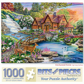 Enchanted Forest 1000 Piece Jigsaw Puzzle