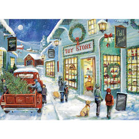 The Town Toy Store 500 Piece Jigsaw Puzzle