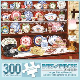 Grandma's China 300 Large Piece Jigsaw Puzzle