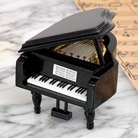 Love Story Grand Piano Music Box