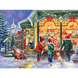 Country Store Christmas 300 Large Piece Jigsaw Puzzle