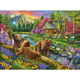 Nap Time Is Over 1000 Piece Jigsaw Puzzle