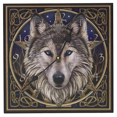 Wolf Clock