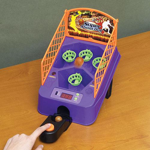 Electronic Tabletop Basketball