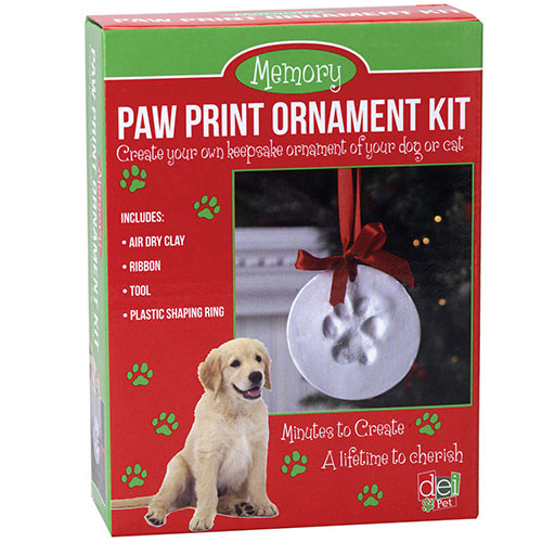 Paw Print Ornament Kit Craft