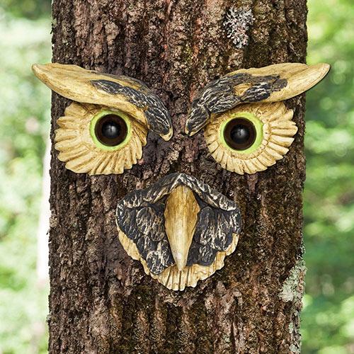 Owl Face Tree Hugger