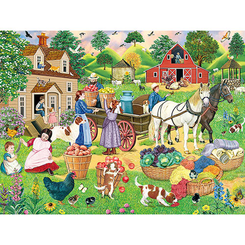 Early Market 300 Large Piece Jigsaw Puzzle